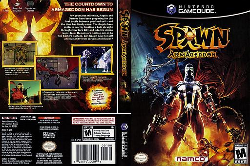 Spawn: Armageddon GameCube cover (GPWEAF)