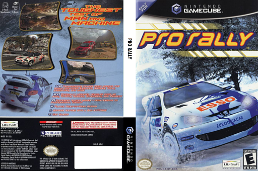 Pro Rally GameCube cover (GRLE41)
