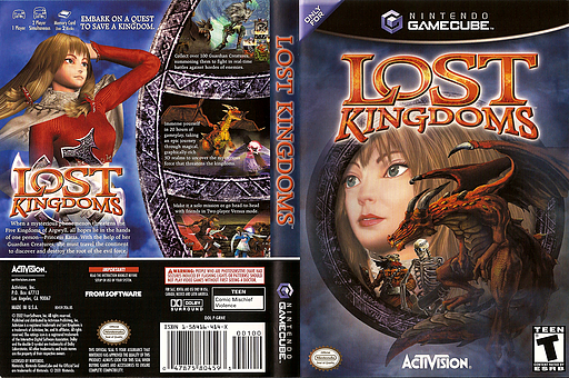 Lost Kingdoms GameCube cover (GRNE52)