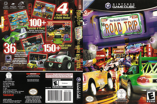 Road Trip: The Arcade Edition GameCube cover (GROE5Z)