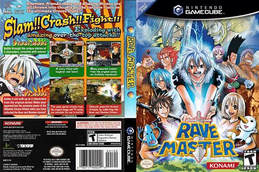 Rave Master GameCube cover (GRVEA4)