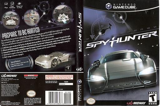 SpyHunter GameCube cover (GSHE5D)