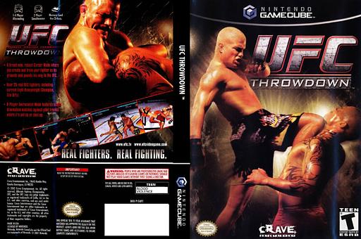 Ultimate Fighting Championship Throwdown GameCube cover (GUFE4Z)