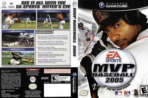 MVP Baseball 2005 GameCube cover (GV4E69)