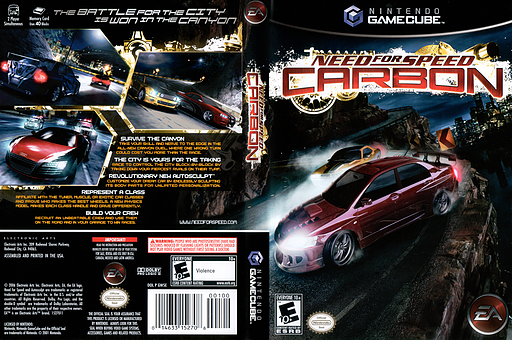 Need for Speed: Carbon GameCube cover (GW5E69)