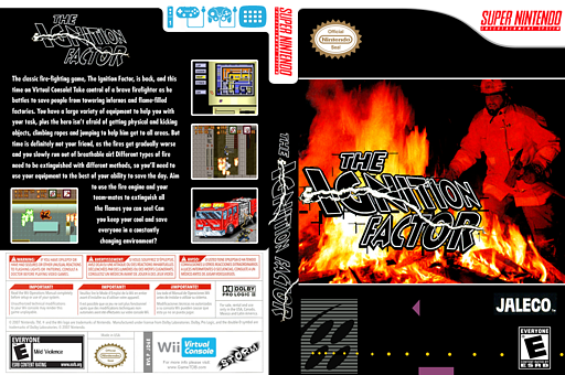 The Ignition Factor VC-SNES cover (JD6E)