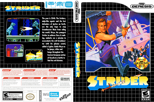 Strider VC-MD cover (MC4E)