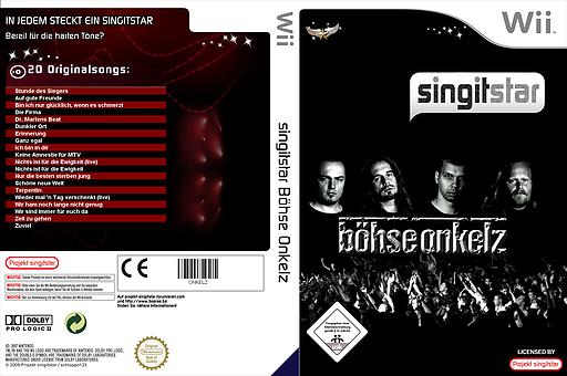 SingItStar Böhse Onkelz PAL CUSTOM cover (ONKELZ)