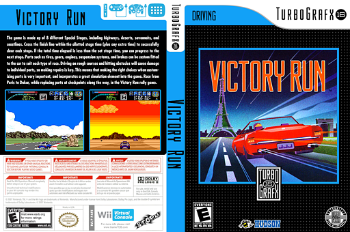 Victory Run VC-PCE cover (PAFE)