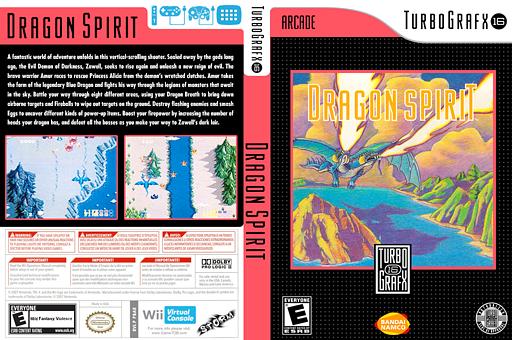 Dragon Spirit VC-PCE cover (PBAE)