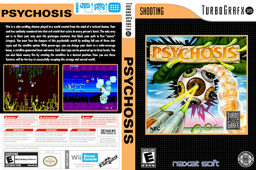 Psychosis VC-PCE cover (PCOE)