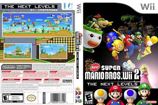 New Super Mario Bros. Wii 2: The Next Levels CUSTOM cover (PPNE01)