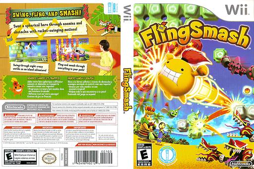 FlingSmash Wii cover (R22E01)