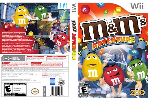 M&M's Adventure Wii cover (R2ME20)