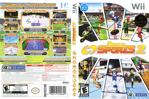 Deca Sports 2 Wii cover (R2SE18)