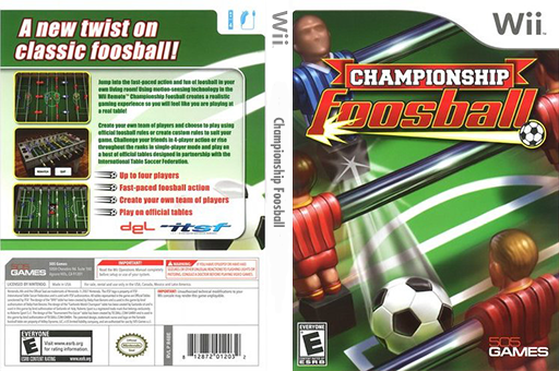 Championship Foosball Wii cover (R4BEJZ)