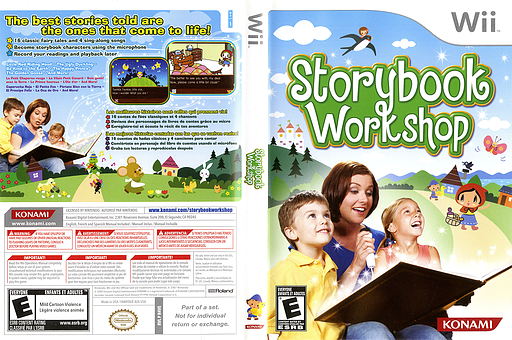 Storybook Workshop Wii cover (R4VEA4)