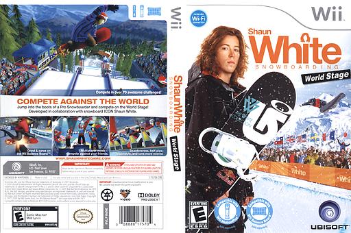 Shaun White Snowboarding: World Stage Wii cover (R6NE41)