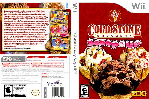 Cold Stone Creamery: Scoop It Up Wii cover (R7NE20)