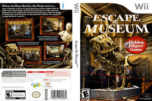 Escape the Museum Wii cover (R7SE5G)