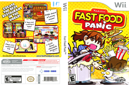 Fast Food Panic Wii cover (R8FES5)