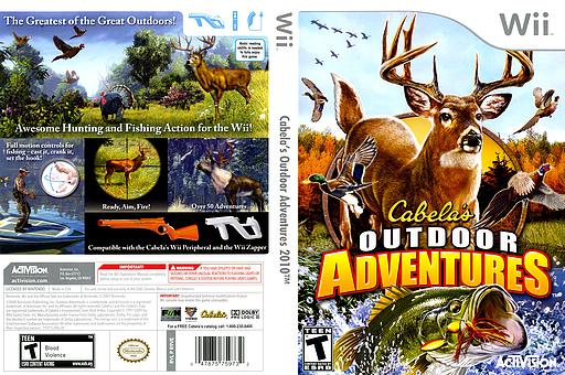 Cabela's Outdoor Adventures 2010 Wii cover (R9VE52)