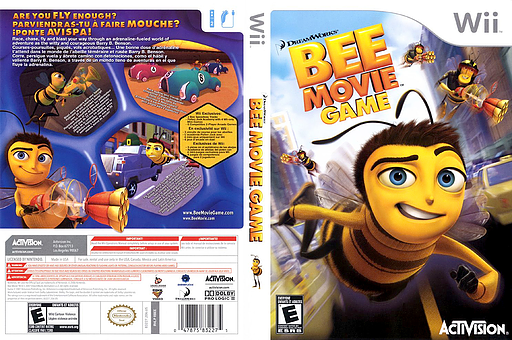 Bee Movie Game Wii cover (RBEE52)