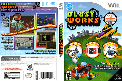 Blast Works: Build, Trade, Destroy Wii cover (RBRE5G)