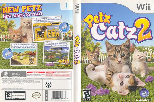 Petz Catz 2 Wii cover (RC3E41)