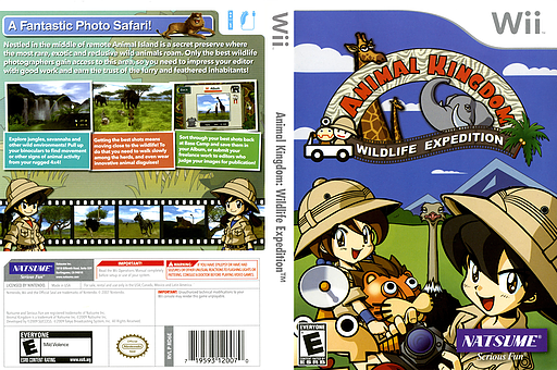 Animal Kingdom: Wildlife Expedition Wii cover (RD6EE9)