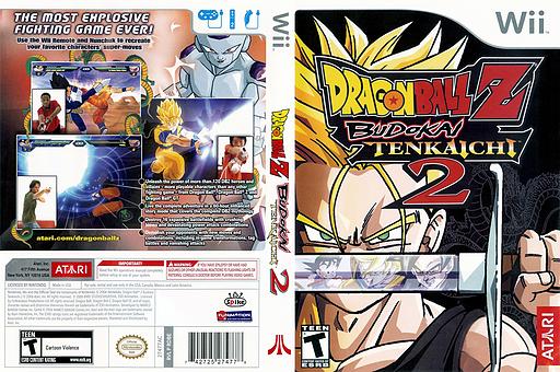 Dragon Ball Z: Budokai Tenkaichi 2 Wii cover (RDBE70)