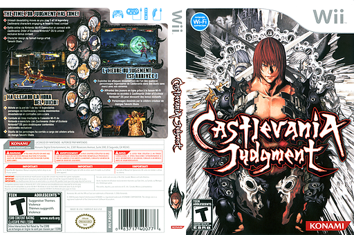 Castlevania Judgment Wii cover (RDGEA4)