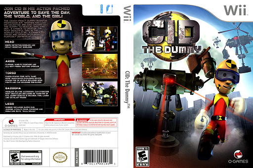 CID: The Dummy Wii cover (RDYEGN)