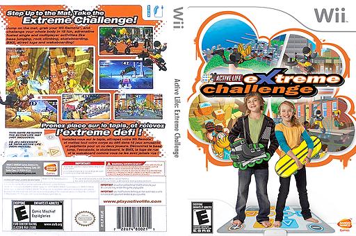 Active Life: Extreme Challenge Wii cover (REJEAF)