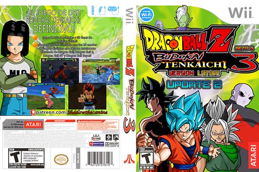 Dragon Ball Z  Budokai Tenkaichi  3 Version! Latino [BETA 3 - UPDATE 2 ] CUSTOM cover (REYE70)