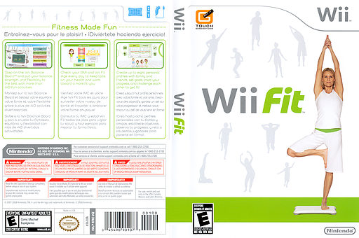 Wii Fit Wii cover (RFNE01)