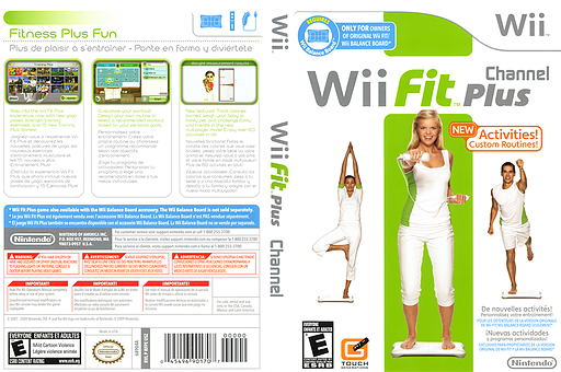 Wii Fit Plus Channel Channel cover (RFPE)