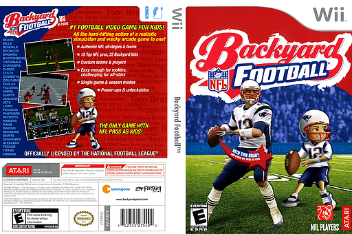 Backyard Football Video Game backyard football wii | outdoor goods