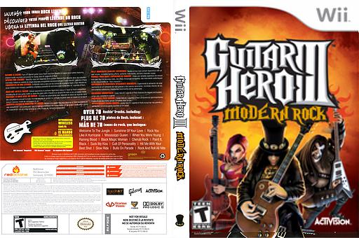Guitar Hero III Custom:Modern Rock CUSTOM cover (RGHEMR)