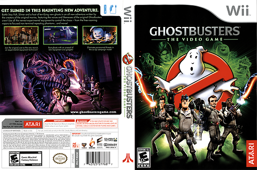 Ghostbusters: The Video Game Wii cover (RGQE70)