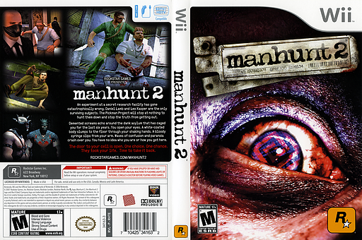 Manhunt 2 Wii cover (RHTE54)