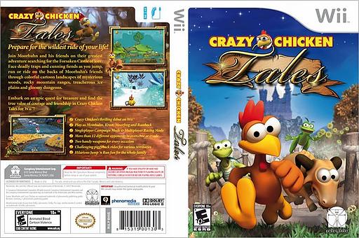 Crazy Chicken Tales Wii cover (RHVE5Z)