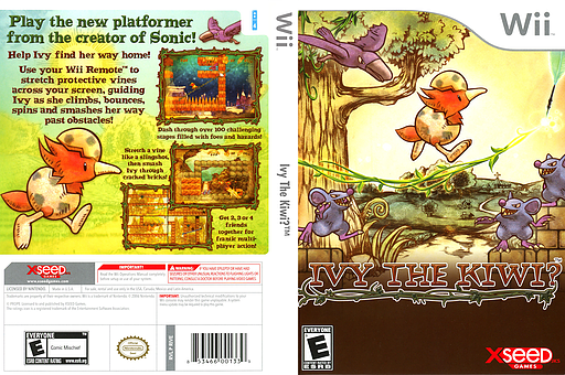 Ivy The Kiwi? Wii cover (RIVEXJ)