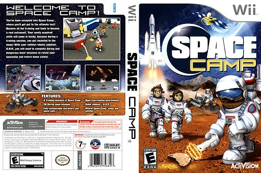 Space Camp Wii cover (RIYE52)