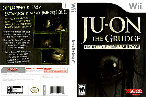 Ju-on: The Grudge Wii cover (RJOEXJ)