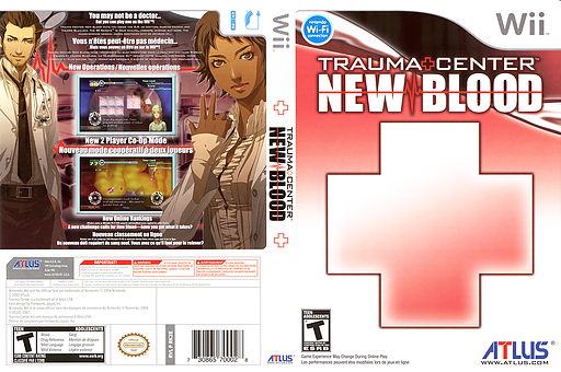 Trauma Center: New Blood Undub CUSTOM cover (RK2EUD)