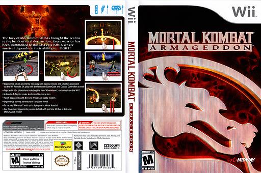 Mortal Kombat: Armageddon Wii cover (RKME5D)