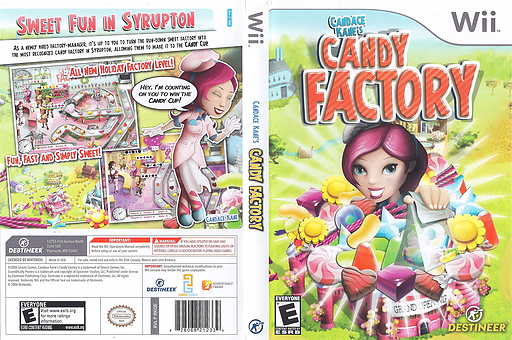 Candace Kane's Candy Factory Wii cover (RKQENR)