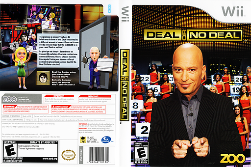 Deal or No Deal Wii cover (RLAE20)