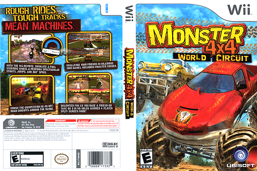 Monster 4x4: World Circuit Wii cover (RM4E41)